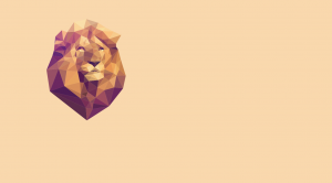 animated-polygon-lion