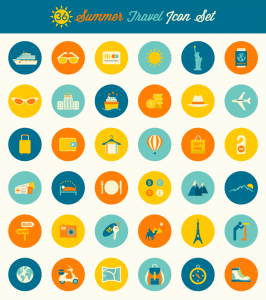 summer-travel-icons